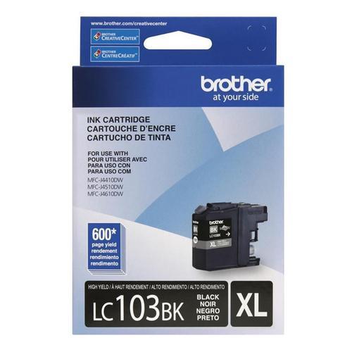 Cartucho Brother 19,4ml Preto Lc103bk