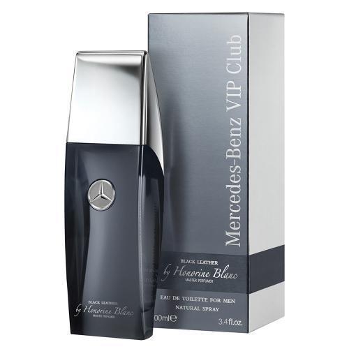 Perfume Club Leather Black Mercedes-benz Eau de Toilette Masculino 100 Ml