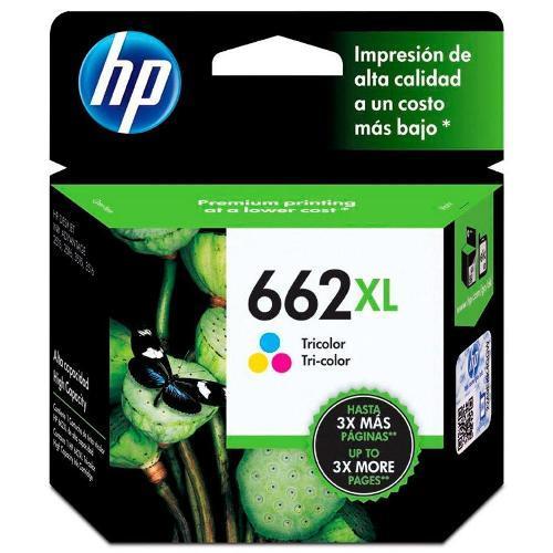 Cartucho Hp 662xl 8ml Colorido Cz106ab