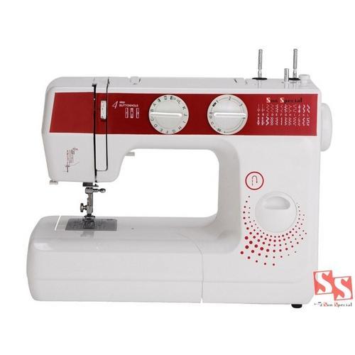 Máquina de Costura Sun Special Sun Lady Ss-988 600 Ppm 24 Pontos Branco - 220v
