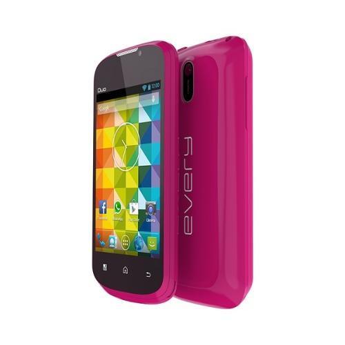 Celular Smartphone Every 4gb Rosa - Dual Chip