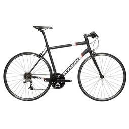 Bicicleta B'twin Triban 500 Aro Rígida 21 Marchas - Branco/preto
