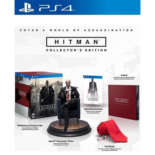 Jogo Hitman Collectors Edition - Playstation 4 - Square Enix