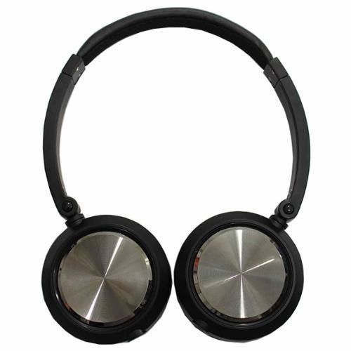 Fone de Ouvido Headphone On-ear Preto Yoga Cd46