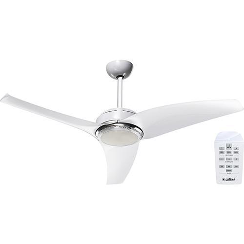 Ventilador de Teto 3 Pás Latina Air Branco 120cm - 220v - Vt675