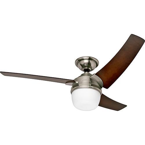 Ventilador de Teto Hunter Eurus Madeira 137cm - 220v