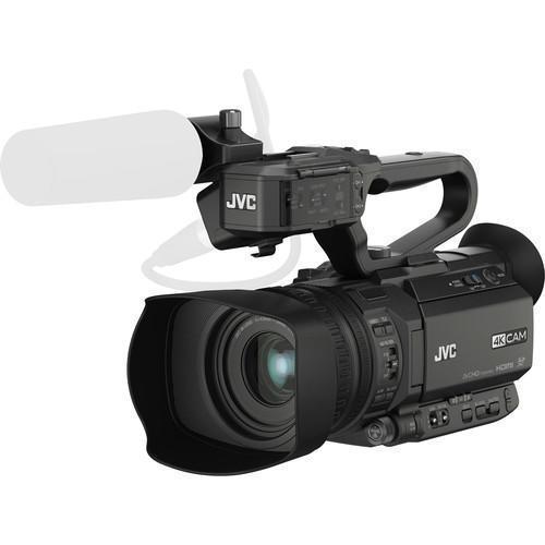 Filmadora Jvc 4k Handycam Preto - Gy-hm200