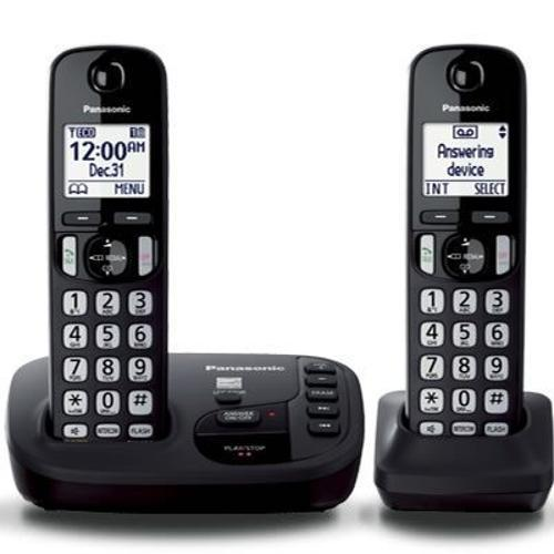 Telefone Sem Fio Panasonic Kxtgd222 Com Id Preto