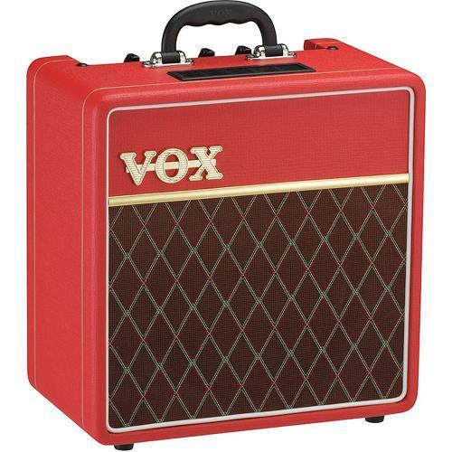 Caixa Acústica Vox Cubo - Vermelho 4 W Rms Ac4c1rd