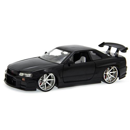Miniatura Nissan Skyline Gt-r 2002 1:24 Jada Toys