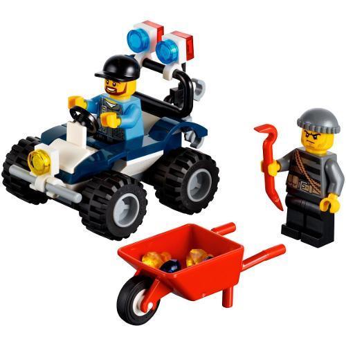 Lego City Off-road de Polícia 51 Peças 60006