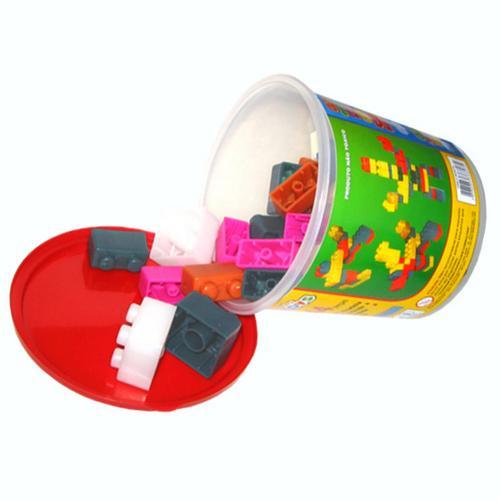 Mini Toys Crie e Monte 44 Peças