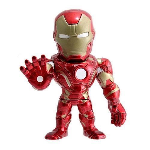 Boneco Homem de Ferro Capitão América Civil War Jada Toys