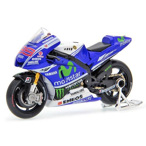 Moto Yamaha Factory Racing Team Movistar Motogp 2014 Jorge Lorenzo 1:18 Maisto