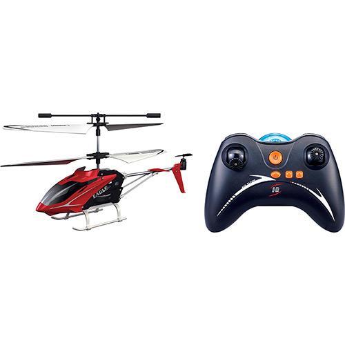 Helicóptero de Controle Remoto Movido a Bateria Phantom Vermelho Candide