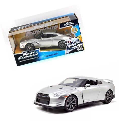 Carrinho Brian´s Nissan Gt-r (r35) Fast Furious 7 1:24 97212 Jada Toys