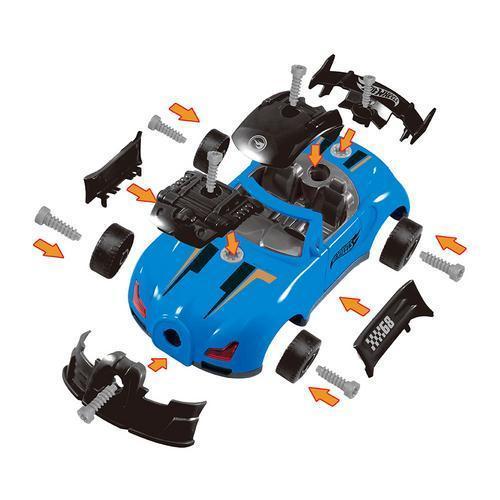 Carrinho Hot Wheels Tunado Monte e Desmonte 7972-1 Fun Divirta-se
