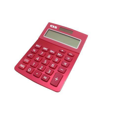Calculadora de Mesa 12 Dígitos Rosa C219 Cis