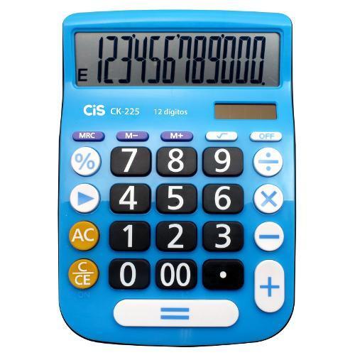 Calculadora de Mesa 12 Dígitos Azul Ck225 Cis
