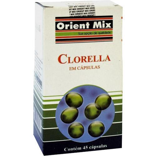 Orient Mix Clorella - 45 Cápsulas