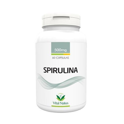 Vital Natus Spirulina 60 Cápsulas