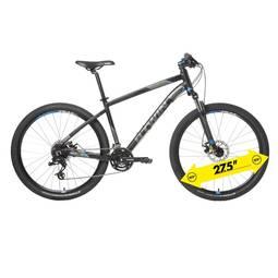 Bicicleta B'twin Rockrider 520 Tm Aro 26 Susp. Dianteira 27 Marchas - Cinza