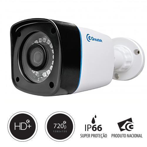 Câmera Greatek Externa Hdcvi Compatível Com Intelbras 720p - Sbpe22810c