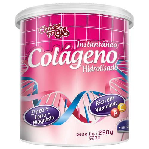 Chá Mais Colágeno Hidrolisado C/ Betacaroteno 250g Abacaxi C/ Hortelã