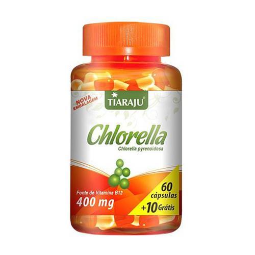 Tiaraju Chlorella 70 Cápsulas
