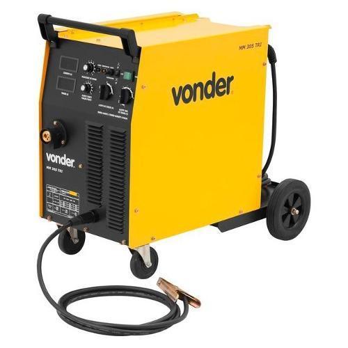 Máquina de Solda Mig/mag Mm305 440v Vonder