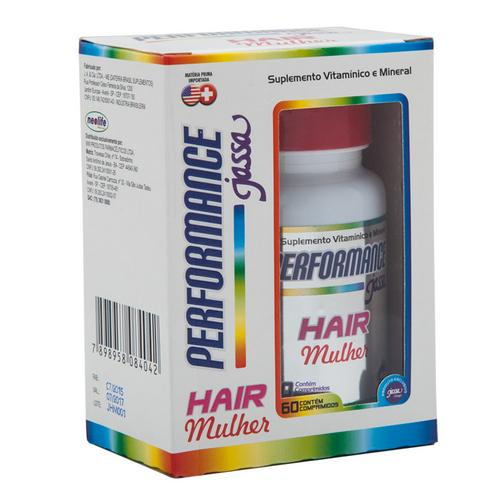 Jassa Performance Hair Mulher 60 Comprimidos