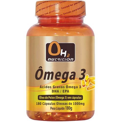 Oh2 Nutrition Ômega 3 180 Softgels