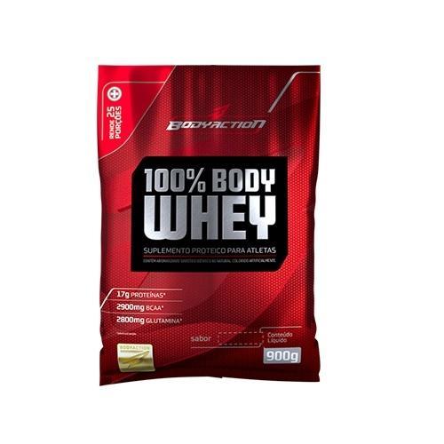 100% Body Whey 900g Body Action