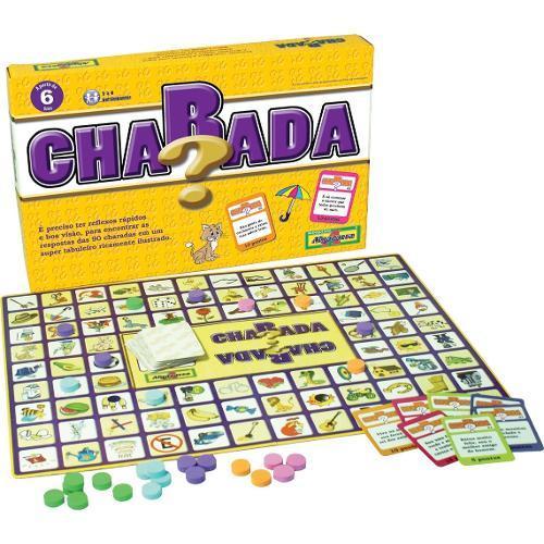 Jogo de Desafio Charada Algazarra Brinquedos
