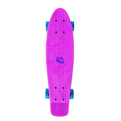 Skate 444400 Cruiser - Red Nose Roxo Bel Sports