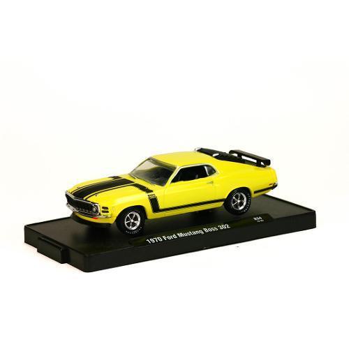 Miniatura Ford Mustang Boss 302 1970 R34 1:64 M2 Machines