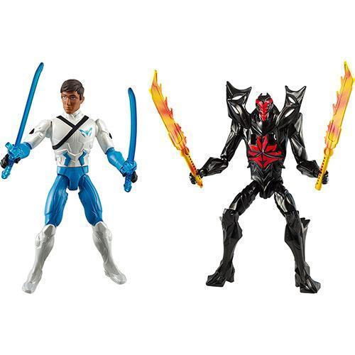 Bonecos Max Steel Samurai Max Vs Saber Dread Mattel