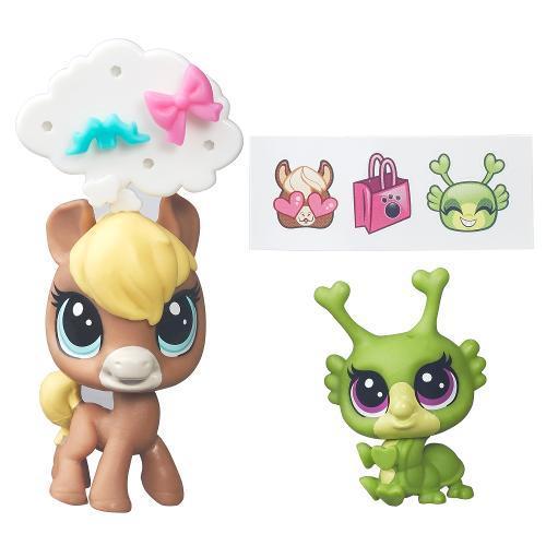 Littlest Pet Shop Chevallie Tanwood Breeley Buggles B7749 - Hasbro
