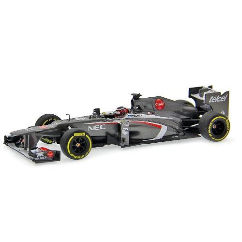 Miniatura Fórmula 1 Sauber C32 2013 N. Hulkenberg Show Car 2013 1:43 Minichamps