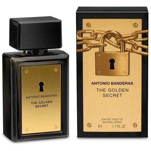 Perfume The Golden Secret Antonio Banderas Eau de Toilette Masculino 50 Ml
