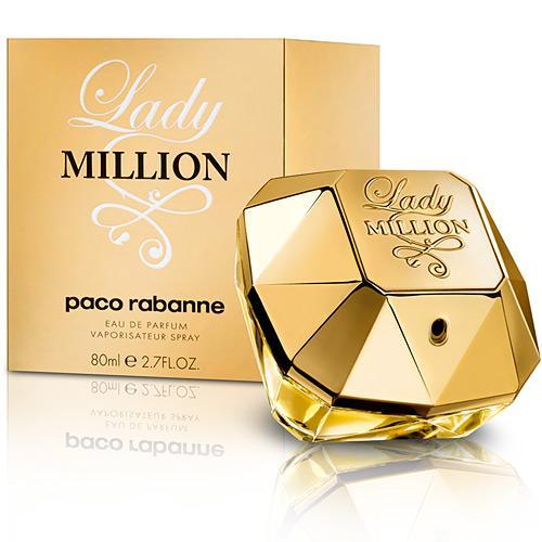 Perfume Lady Million Paco Rabanne Eau de Parfum Feminino 50 Ml