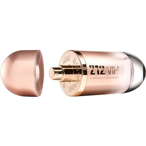Perfume 212 Vip Rosé Carolina Herrera Eau de Parfum Feminino 50 Ml