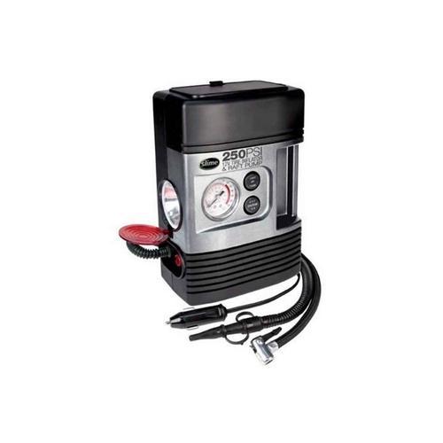 Compressor de Ar Slime C/ Manometro 12v