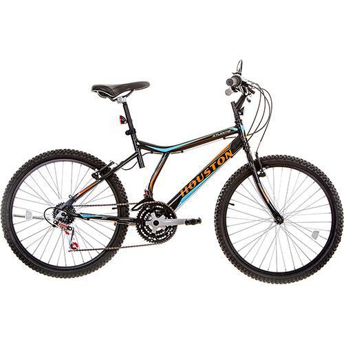 Bicicleta Houston Atlantis Land Aro 26 Rígida 21 Marchas - Branco/preto