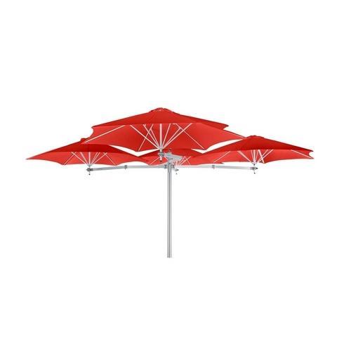Ombrelone Sungap Multiflex 4 Vermelho 300