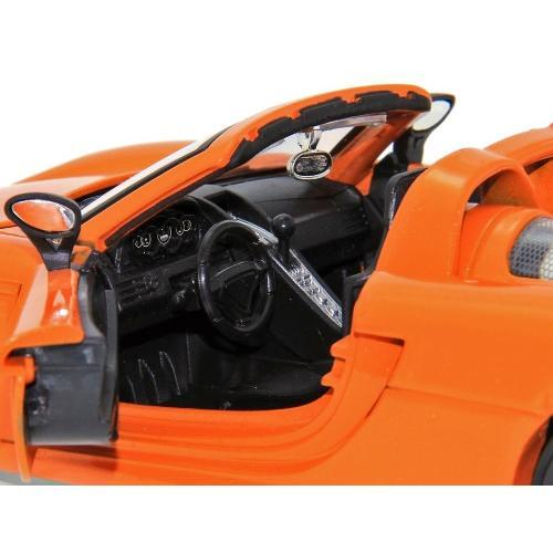 Carrinho Porsche Carrera Gt 2005 1:24 Laranja 96955 Jada Toys
