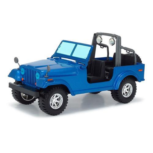 Carrinho Jeep Wrangler 1:24 Azul 18-22033 Bburago