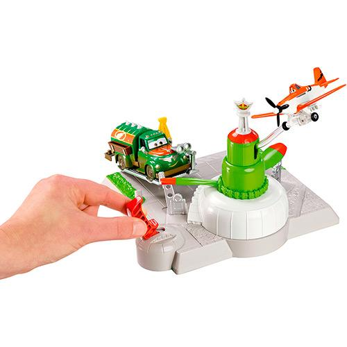 Pista de Pouso Aviões e Carros e Estação de Abastecimento Bfm30/bfm40 Mattel