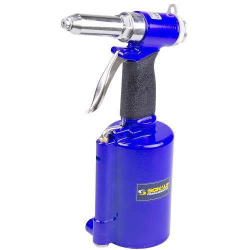 Rebitador Pneumático Schulz 1/4 1/4 Azul Sfr1400