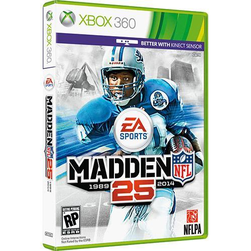 Jogo Nfl 25 - Xbox 360 - Ea Sports